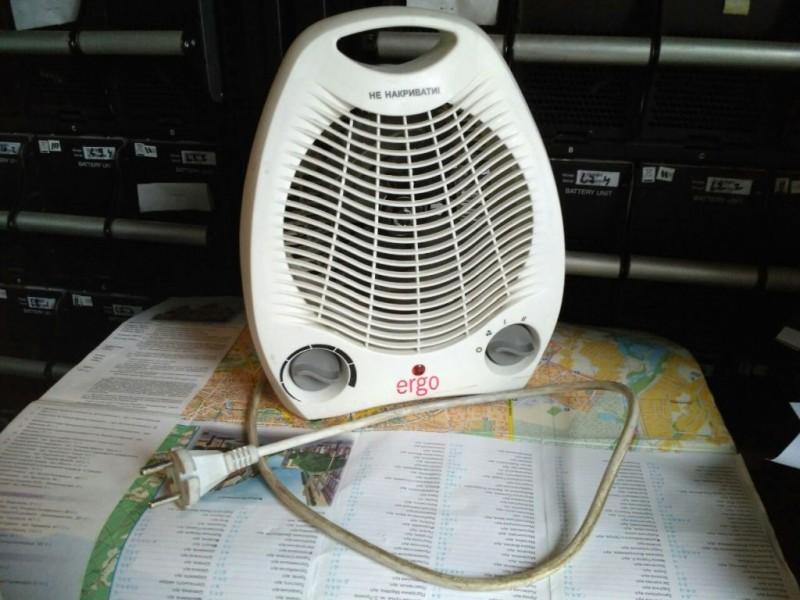 Тепло вентилятор 2000Вт ERGO