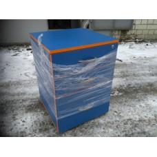 Тумбочка синяя, с 3-мя ящиками
