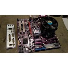 Материнка ECS 945G-M3 + процессор core 2 duo 6300 + кулер