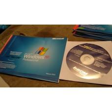 Диск Windows XP с книжкой, наклейки нет