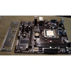 Материнская плата Gigabyte GA-H81M-S1+процессор