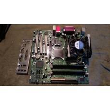 Комплект Intel D865GLC + кулер + Celeron 2,4+ 512Mb