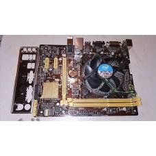 Комплект.Материнка Asus H81M-K процессор Intel i3-4150 3.5 GHz + кулер