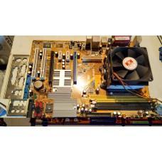 Комплект Asus M2N4-SLI+AMD Athlon 64 x2 3800+ + куллер