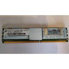 Оперативная память DDR2 PC2-5300 667MHz 1Gb Micron HP Серверная гар1мес
