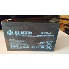 Аккумулятор HR9-6  6 вольт