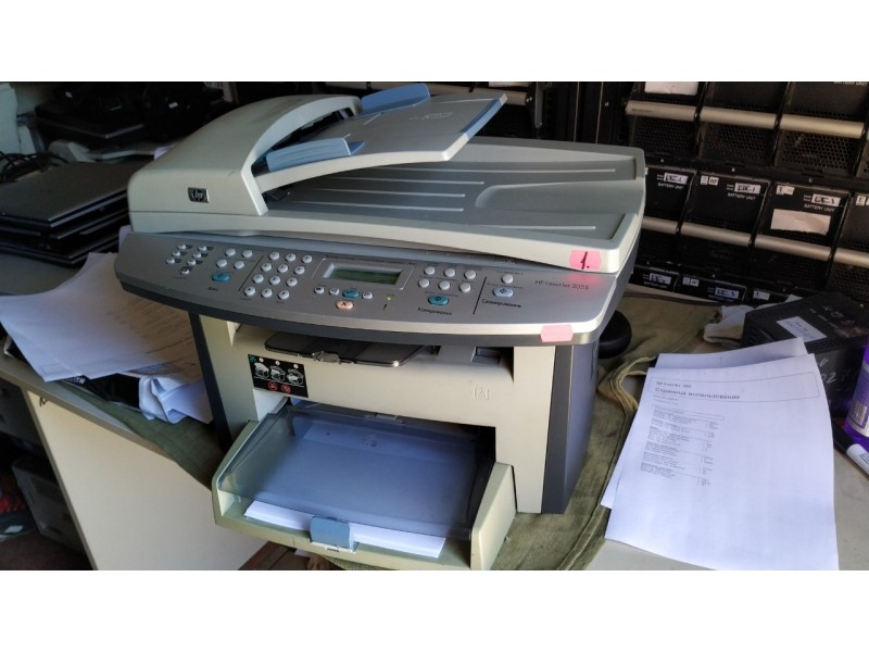 Монохромный лазерный МФУ HewlettPackard HP LaserJet 3055 №1