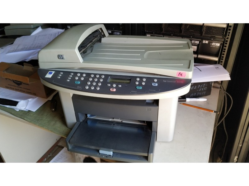 Монохромный лазерный МФУ HewlettPackard HP LaserJet 3030 №1x