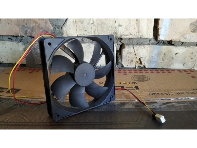 Кулер вентилятор 12см