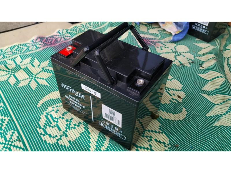 Аккумуляторы EnerGenie BAT-12V30AH технология AGM