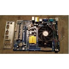 Комплект Athlon II X3 450 + DDR3 6Gb +  ASRock N68-GS3 UCC, кулер и задняя панелька