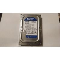 Жесткий диск WD 320 Гб WD3200AAJS SATAII №523