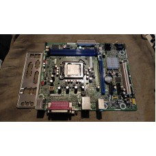 Материнка Intel DH61CR с задней панелькой + Celeron G530