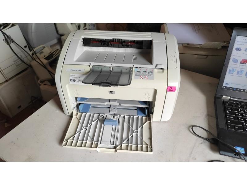 Принтер HP LaserJet 1018 №2