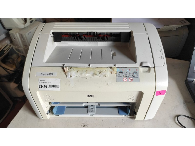 Принтер HP LaserJet 1018 №4