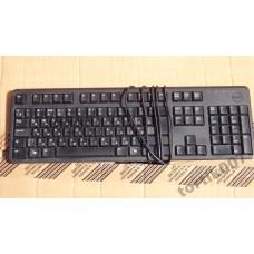Клавиатура DELL USB KB212-B затертая 70гр
