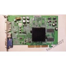Видеокарта AGP Radeon 9200 128Mb